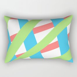 ColoredLines Rectangular Pillow