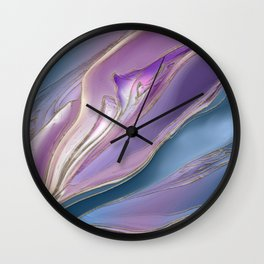 Serenity Flow abstract Wall Clock