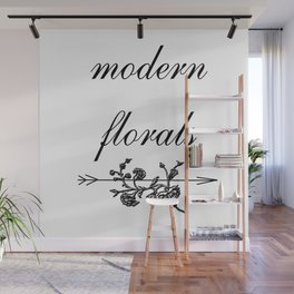 modern florals 2 . Home Decor Graphicdesign Wall Mural