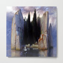 Arnold Bocklin Isle of the Dead Metal Print