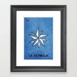 La Estrella Framed Art Print