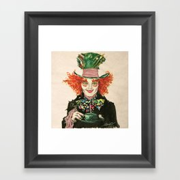 The Madhatter Framed Art Print