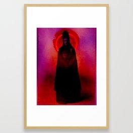 Lady Of Death Framed Art Print