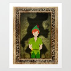 Shadow Collection, Series 2 - Lost Boy Art Print