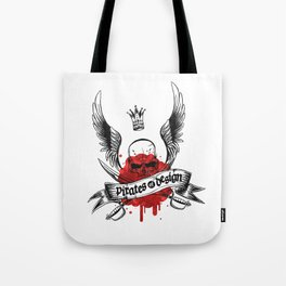 Pirates of Design Tote Bag