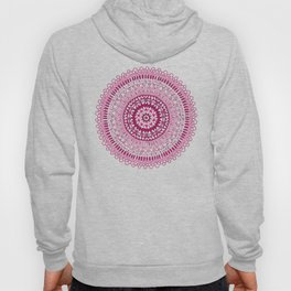 Hand made ornamental round lace Hoody