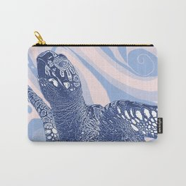 Unique Turtle Design Carry-All Pouch