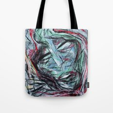 Chalk Face Tote Bag
