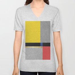 Geometric art X Unisex V-Neck