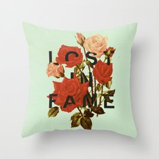Lost In Fame Throw Pillow