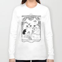 theatre Long Sleeve T-shirts featuring theatre by mariana, a miserável(the miserable one)