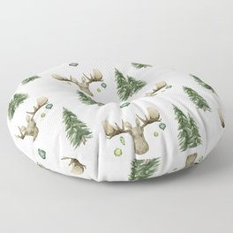 The Moose Wonderful Time - Pattern Floor Pillow