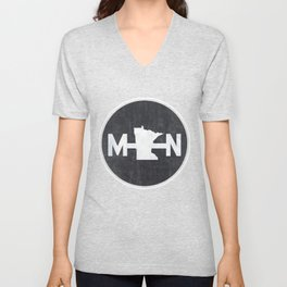 Minnesota Logo MN Unisex V-Neck