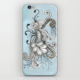 Everything you can imagine is real iPhone Skin