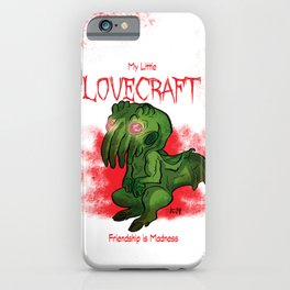 My Little Lovecraft iPhone Case
