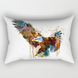 Free and Deadly Eagle Rectangular Pillow