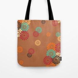 Japanese Culture -  Vintage flower Pattern Tote Bag