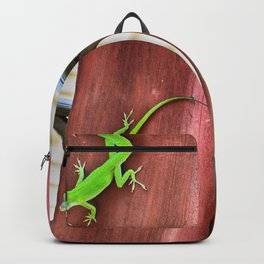 Green Anole Backpack