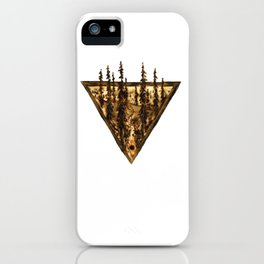 Wood Burn #2 iPhone Case