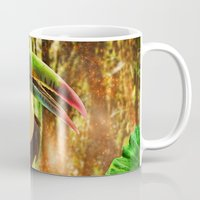 toucan Mugs featuring Toucan by MG-Studio