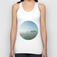 island Tank Tops featuring island by rAr : Art by Robyn Ashley Rosner