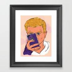 MMM Gorgeous Framed Art Print