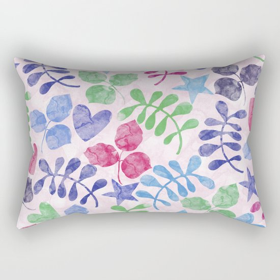 Lovely Pattern II Rectangular Pillow