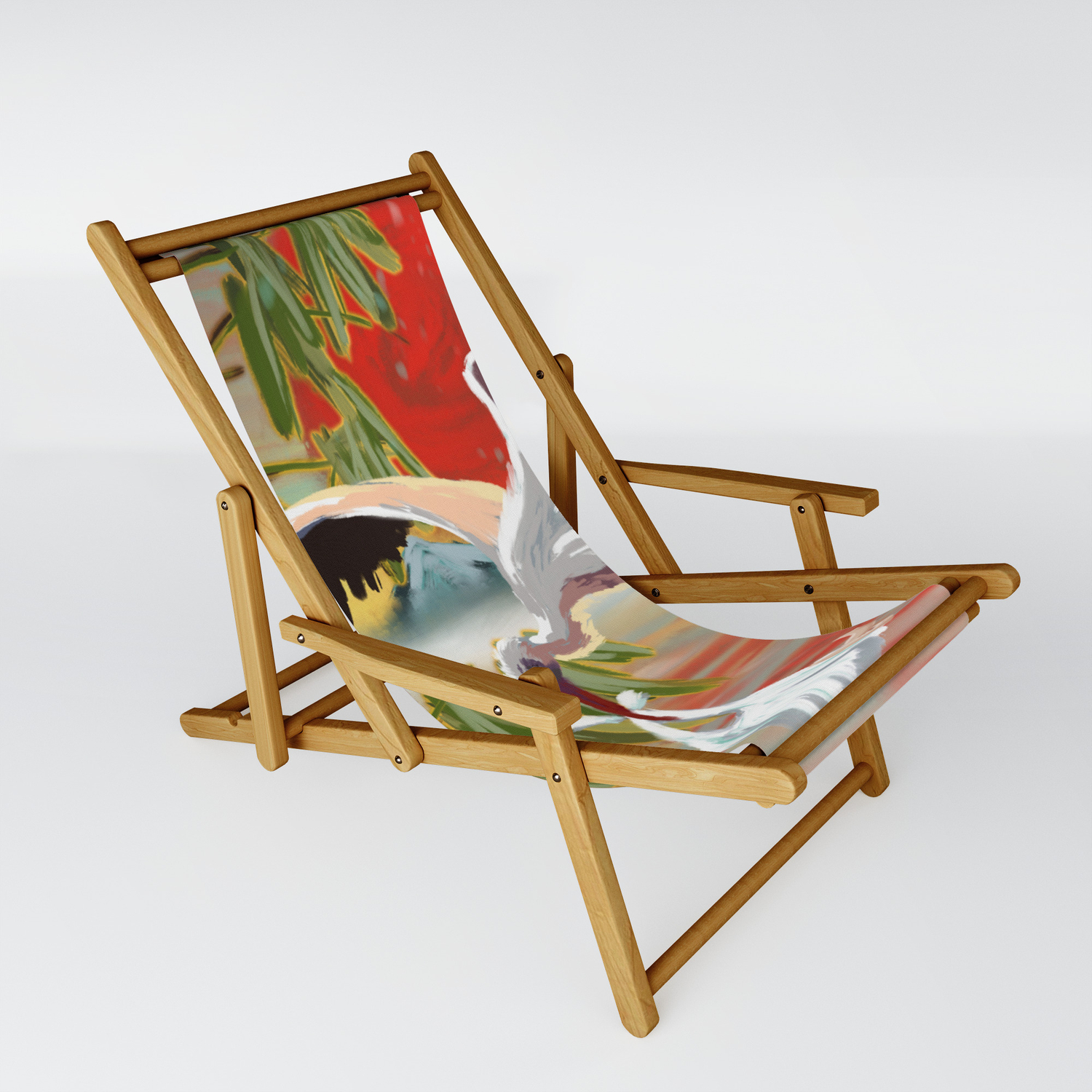 Stork And Baby Sling Chair By Namesgrace