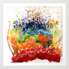 Love Matters Art Print