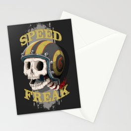 Speed Freak Stationery Cards