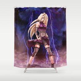 Ino Yamanaka Shower Curtain