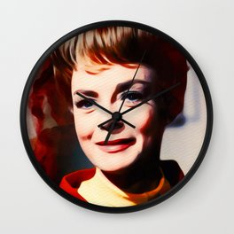 June Lockhart, Vintage Actress Wall Clock