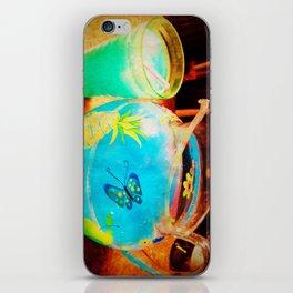 blue kool aid. iPhone Skin