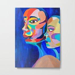 Sisters. Metal Print