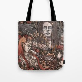 Demons In Colour Tote Bag