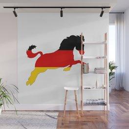 German Flag - Horse Wall Mural
