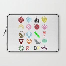 RWBY Emblems Laptop Sleeve