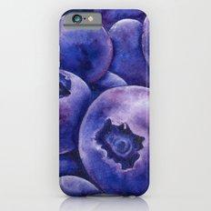 Fresh Blueberries iPhone 6s Slim Case