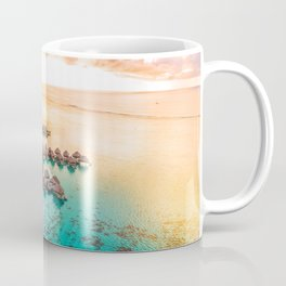 Bora bora Tahiti honeymoon beach resort vacation Coffee Mug