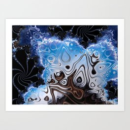 BBQSHOES: Fractal Design 103985 Art Print