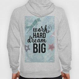 Work Hard Dream Big - Space Fox Hustle Hoody