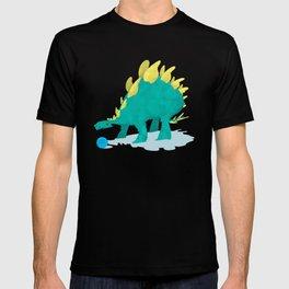 Stegosaurus and his Ball T-shirt