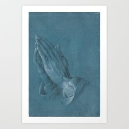 Albrecht Durer - Praying Hands Art Print