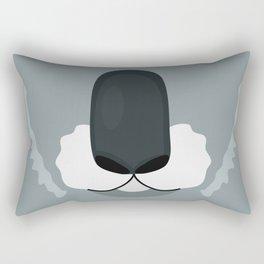 Baboon Mouth Funny Kids Cartoon Smile Rectangular Pillow