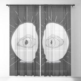 Fortune Eye Seer Sheer Curtain