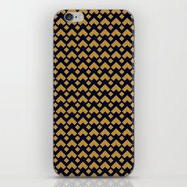 Traditional Japanese pattern KAMINARI iPhone Skin