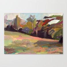 Maine, Pumpkin Hill 2011 Canvas Print