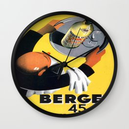 Vintage poster - Berger Wall Clock