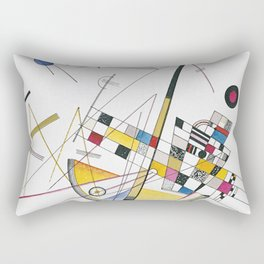 Art Mild Tension Vasily Kandinsky Rectangular Pillow