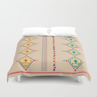 ethnic Duvet Covers featuring Ethnic by ShivaR